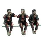 The Three Wise Zombies